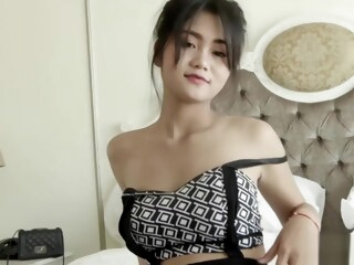 Adorable Thai amateur has her tight pussy stuffed iceporn amateur asian brunette