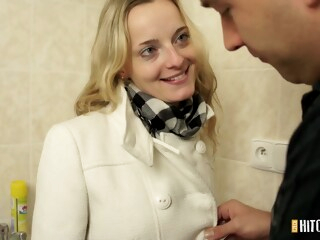 PornCZ - CzechHitchHickers E016 iceporn amateur blonde cumshot